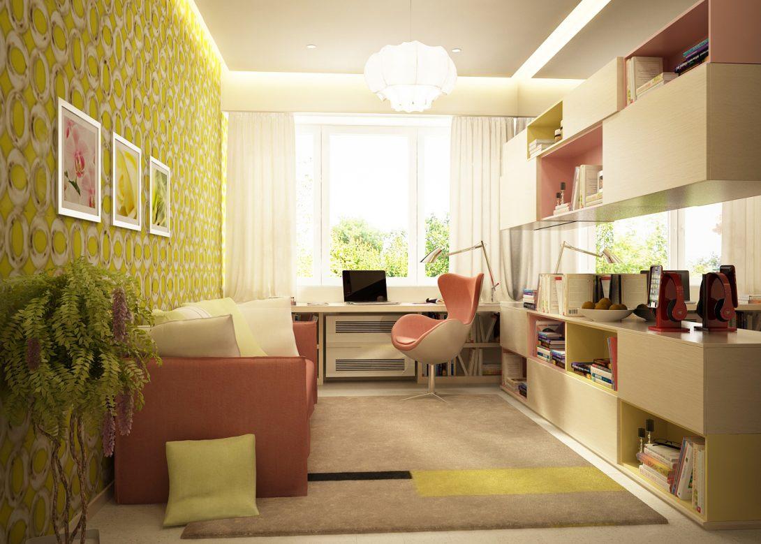 Квартира для семьи с тремя детьми в ЖК Башня