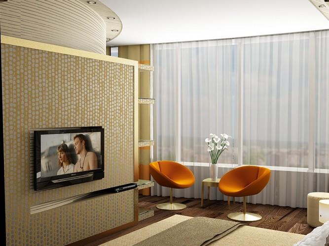 Квартира-студия в ЖК Мост-Сити 70м2