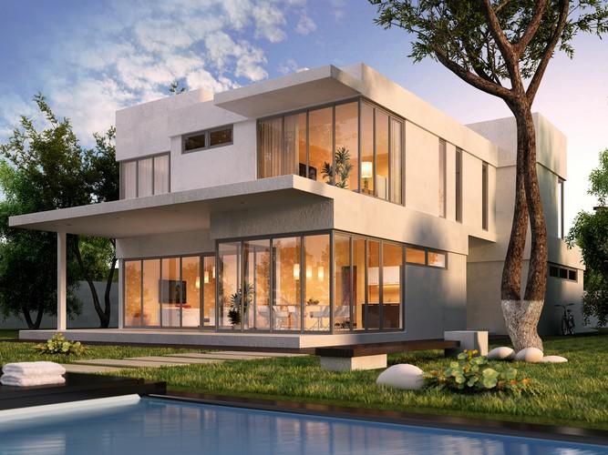 Дом на берегу р. Самара