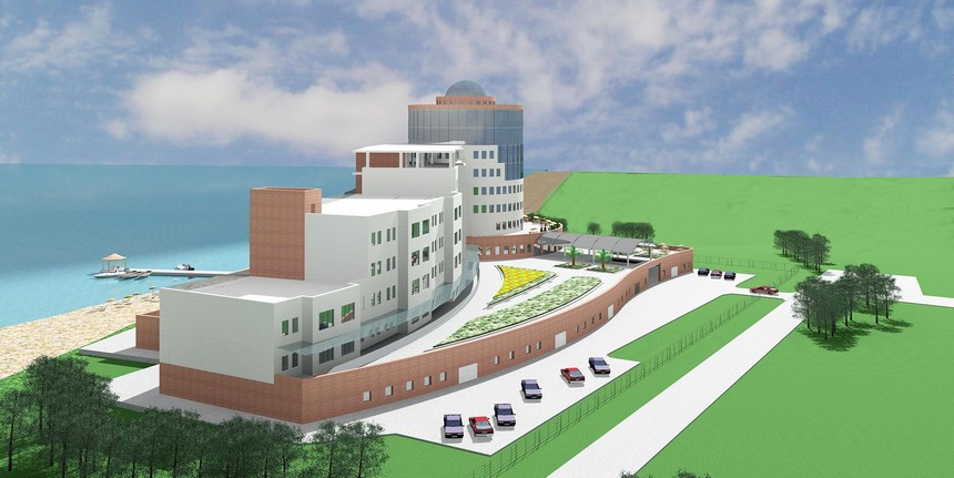 Гостиничный комплекс в г. Бердянск