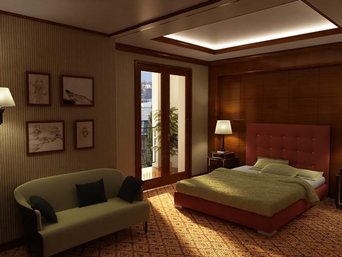 Интерьер отеля на ул. Красная
