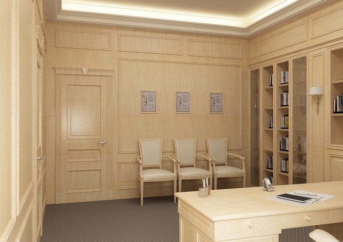 Офис в классическом стиле в г. Киев