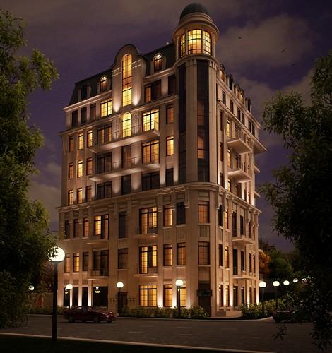 Отель на ул. Якова Самарского