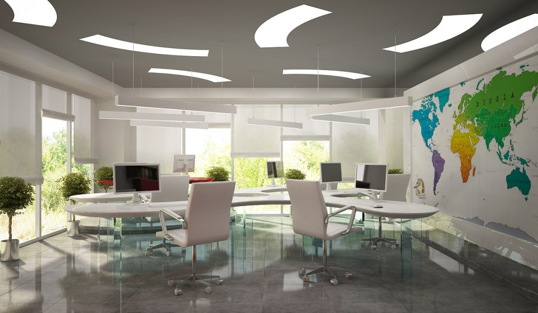 Дизайн интерьера офиса Компании Триада