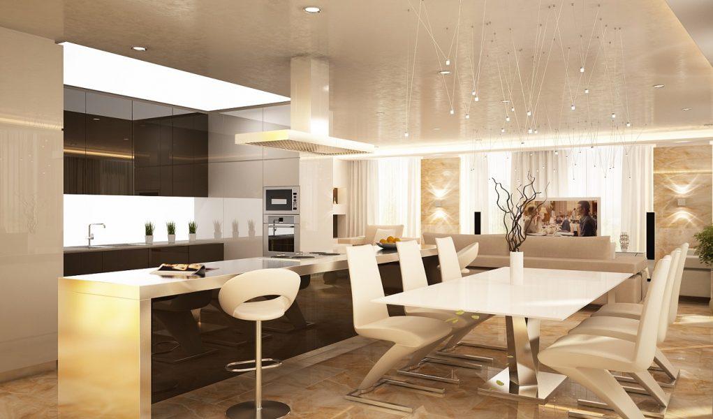 Дизайн интерьера квартиры в ЖК Фестивальный 270м2