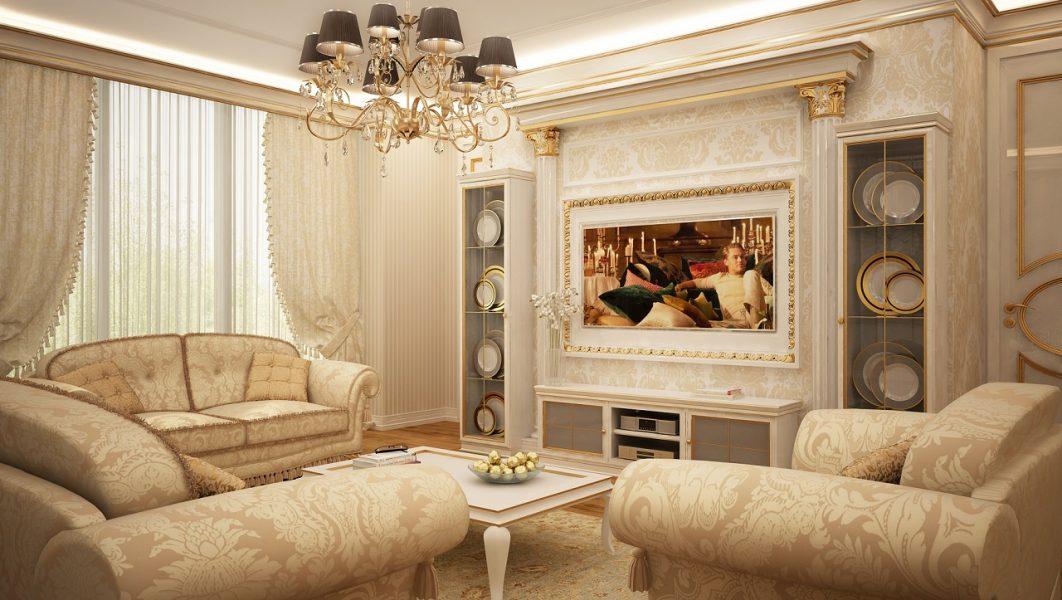 Дизайн интерьера квартиры в ЖК Панорама 112м2
