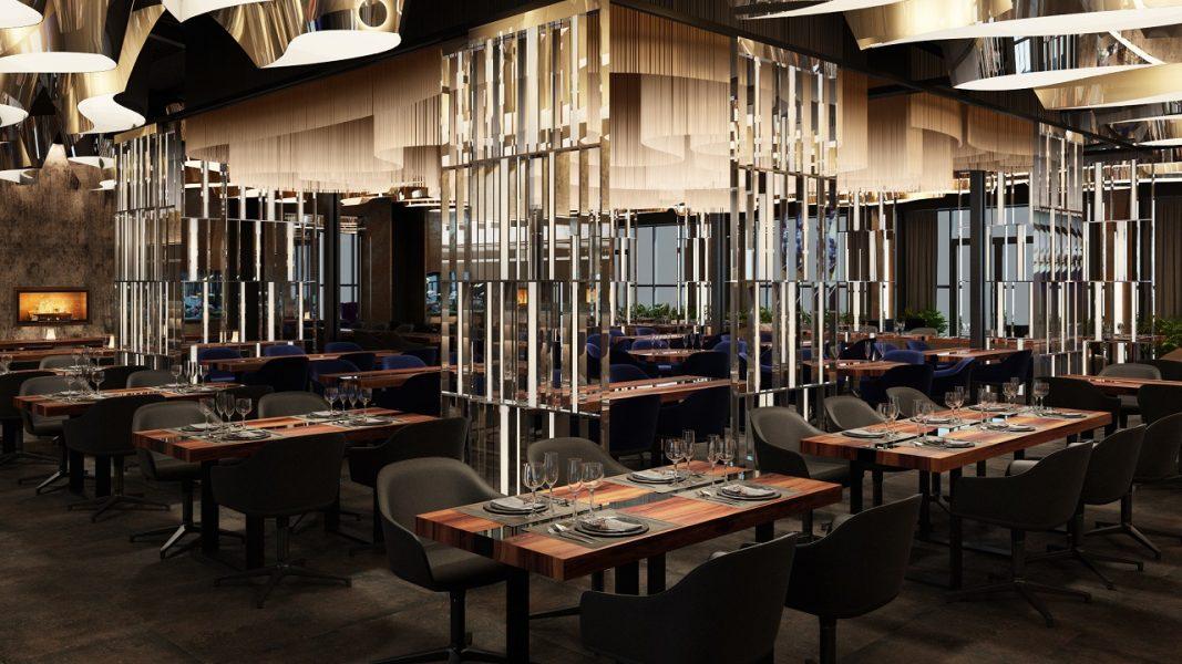 Дизайн интерьера Ресторана и Банкет холл LUMA Днепр